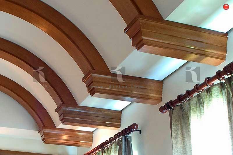 Forro De Muros Y Vigas Monterrey. Vigas Decorativas De Madera