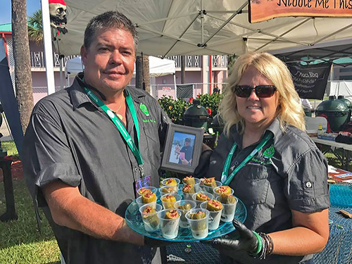 Jordan's Drunk Pickles recipe 2017 Sunshine State Eggfest by Wassi's