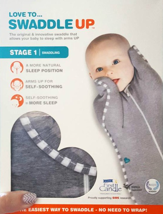 Love to Dream baby Swaddle UP original grey xs