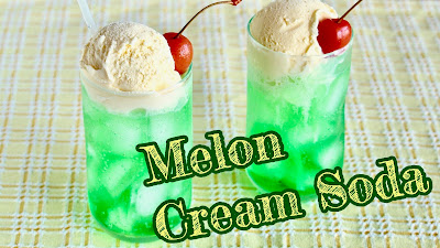 Melon Cream Soda (Melon Float)
