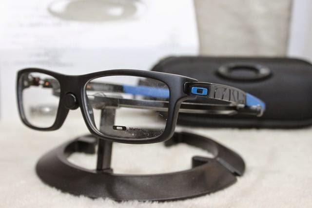 Kacamata Frame Oakley Currency. warna   full black. warna   black blue 187d24fb6d