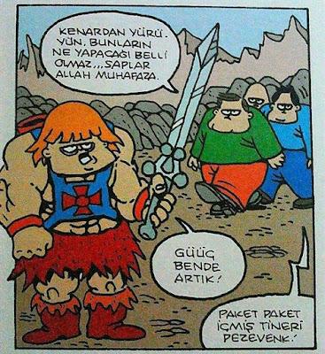 Özer Aydoğan - Paket paket içmiş tineri pezevenk!
