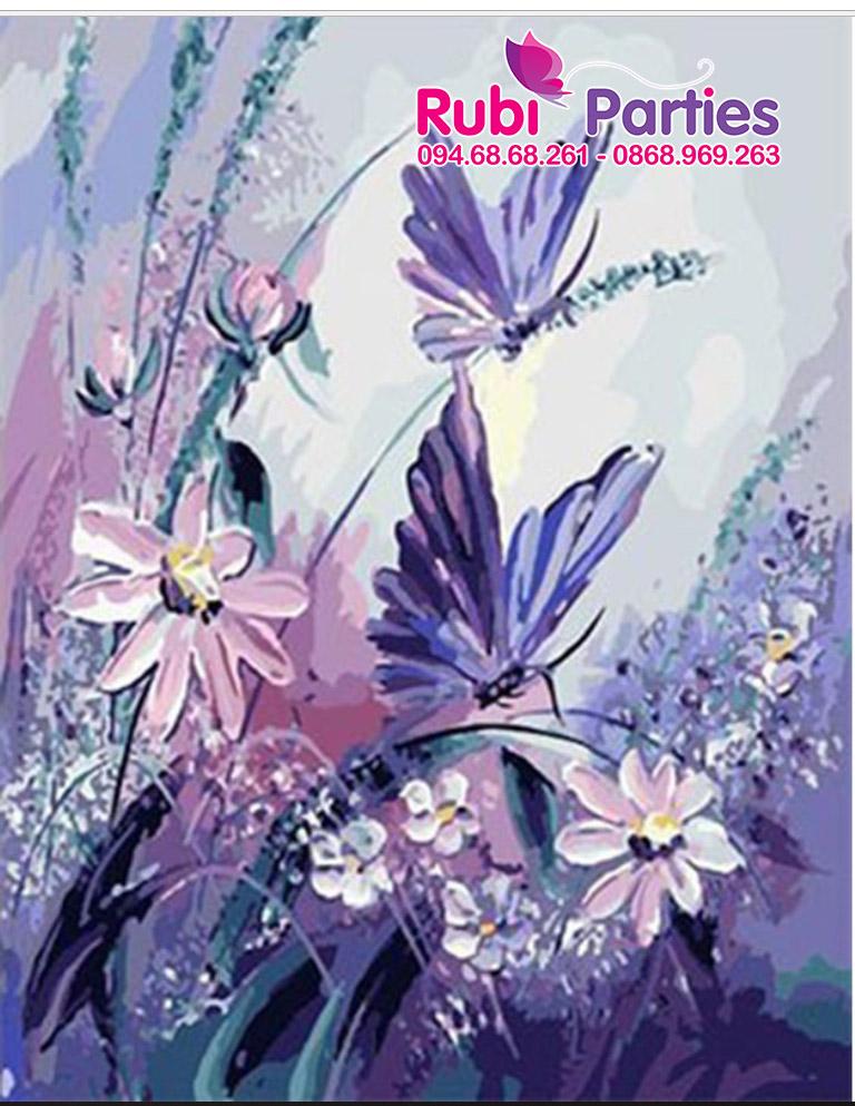 Tranh son dau so hoa o Phu Dien