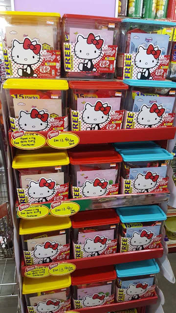 FREE Collectible Kit Kat Hello Kitty Container