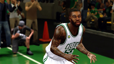 NBA 2K13 Terrence Williams Cyberface 2K Patch