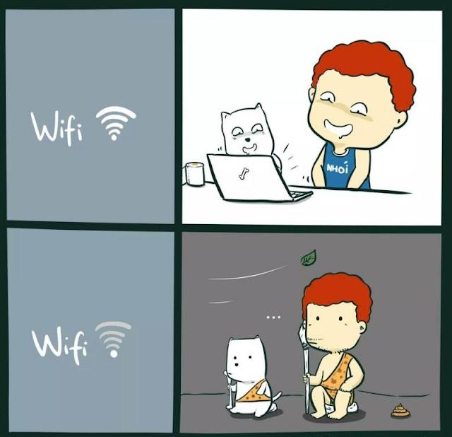 Khi nhà 12 cung hoàng đạo bị rớt mạng internet