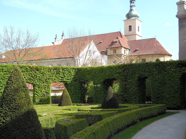 ogród barokowy, topiary