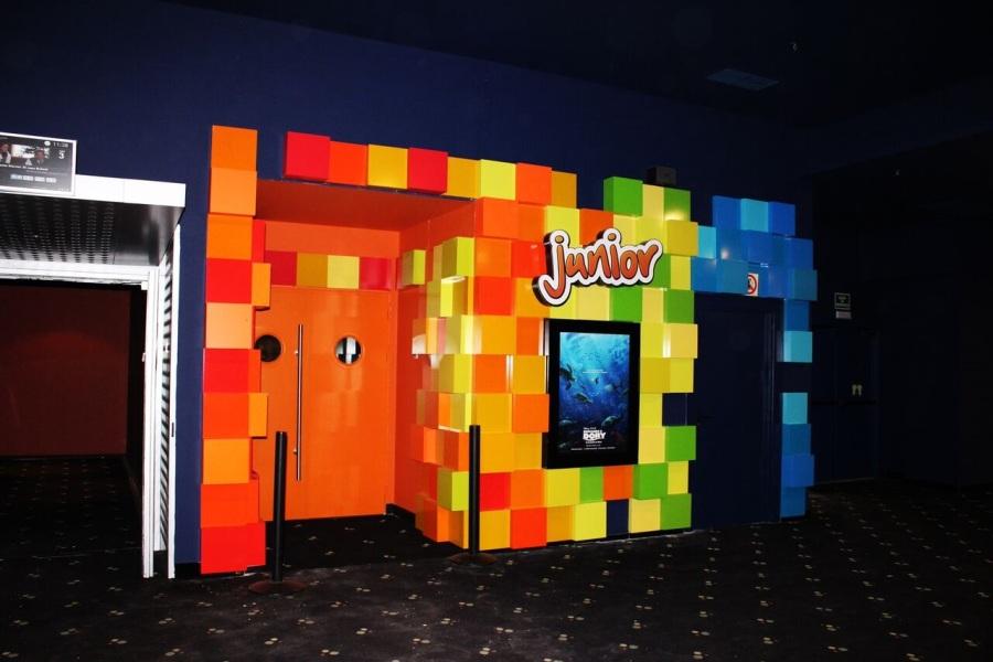 Sala de cine para niños