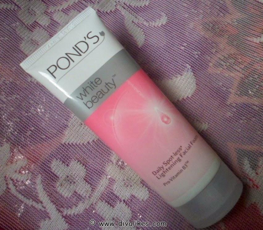 Senka White Beauty Lotion Ii Review: Ponds White Beauty Daily Spot-less Lightening Facial Foam