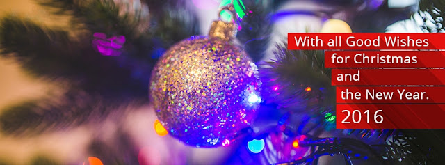 Christmas & New Year Wishes Cover Photo for facebook timeline and twitter images