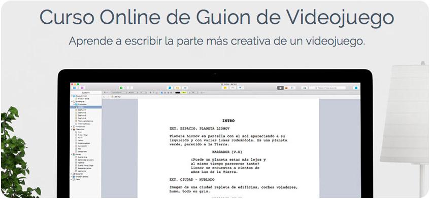 Curso Online de Guion de Videojuego