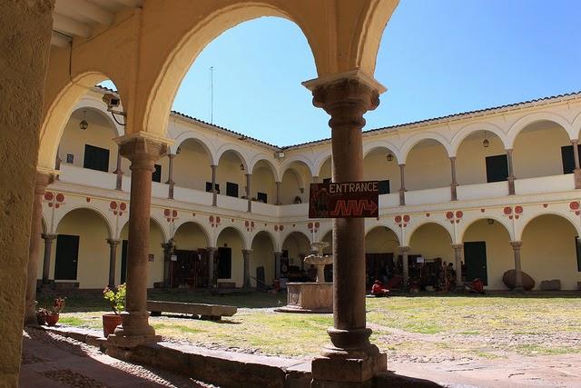 Museu Inka em Cusco no Peru