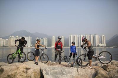 CHINA HONG KONG TRIAL CYCLISTS
