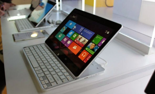 LG Tab Book, Tablet Windows 8 Dengan Desain Keyboard Slide