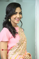 Actress Ritu Varma Pos in Beautiful Pink Anarkali Dress at at Keshava Movie Interview .COM 0126.JPG