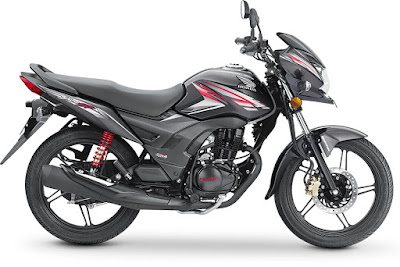 2017 Honda CB Shine SP side look 02