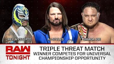 Replay: WWE Monday Night RAW 22/04/2019