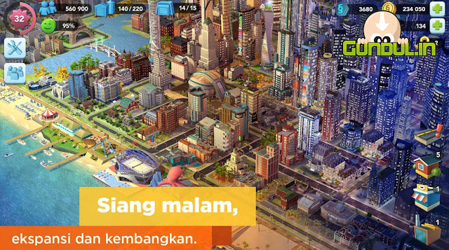 SimCity BuildIt 1.20.51.68892 APK MOD