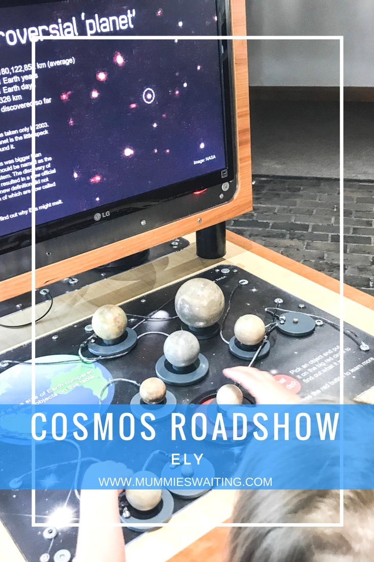 Cosmos Ely Summer Roadshow, Fun, Free and perfect for children of all ages. A great FREE science day out for the whole family!