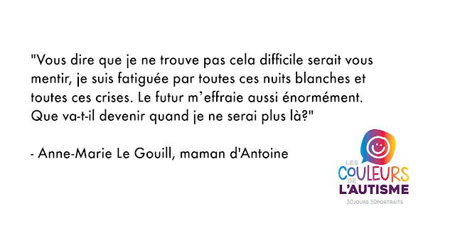 Autisme: la couleur d'Antoine #30couleurs