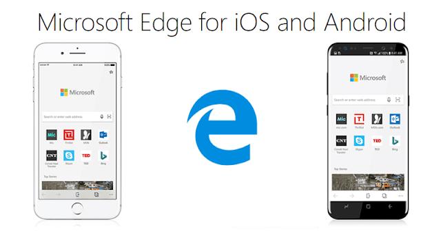 Microsoft Meluncurkan EdgeBrowser Untuk Android & iOS