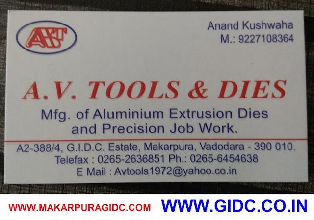 A V TOOLS & DIES - 9227108364