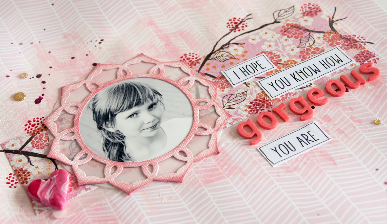 Scrapbooking layout for Allt om Scrap DT