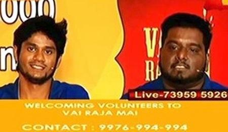 Live Smile Settai – Vai Raja Mai – 24/7 Talk Marathon