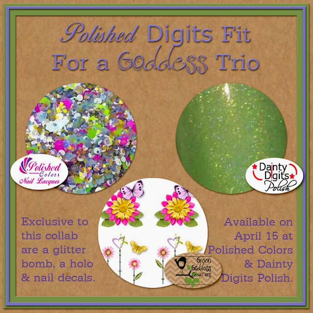 Polished Digits Fit For a Goddess Trio