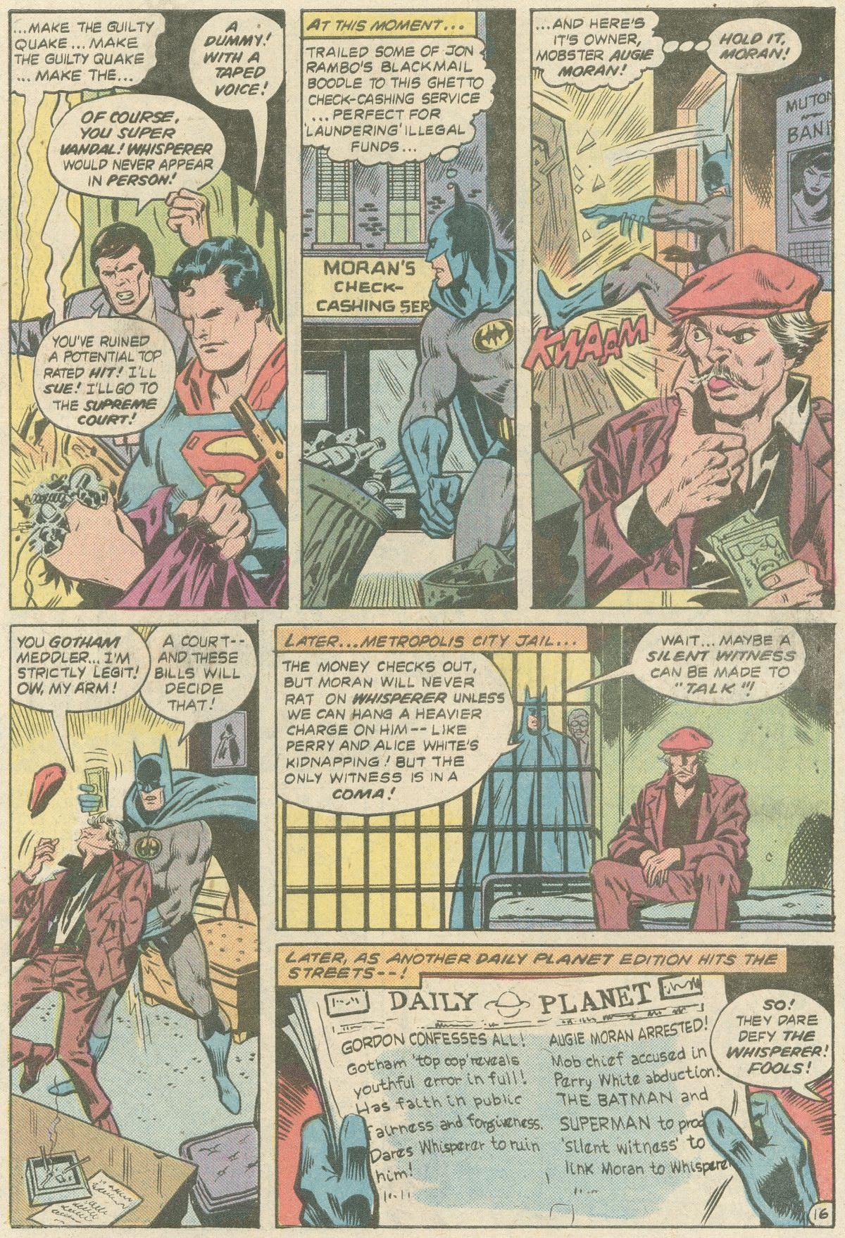 Read online World's Finest Comics comic -  Issue #252 - 20