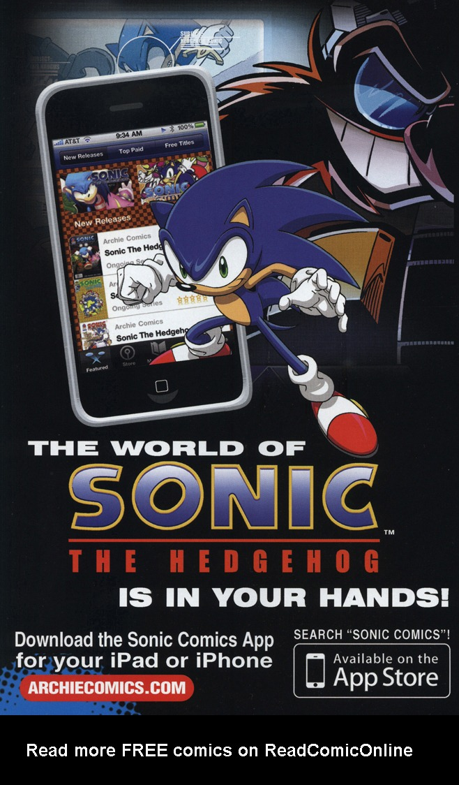 Read online Sonic The Hedgehog comic -  Issue #229 - 2