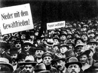 Демонстрация против подписания Версальского договора Берлин. 22  мая 1919 г.