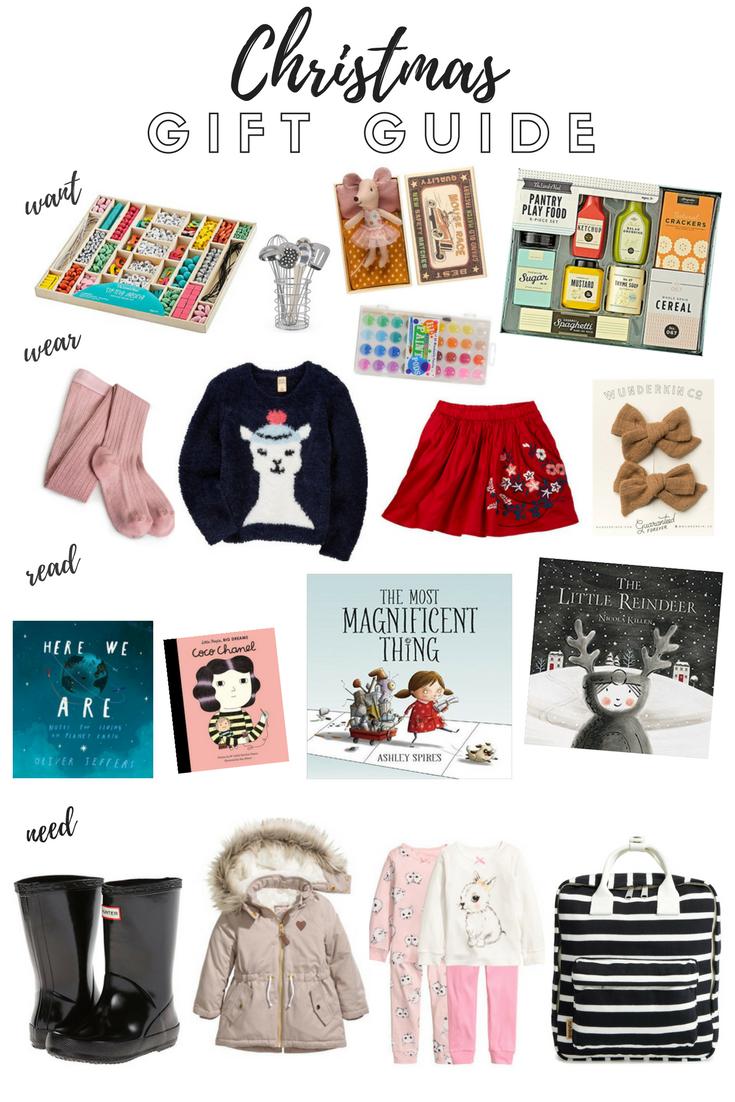 Christmas Gift Guide Little Girl\'s Edition | Lauren Brooke
