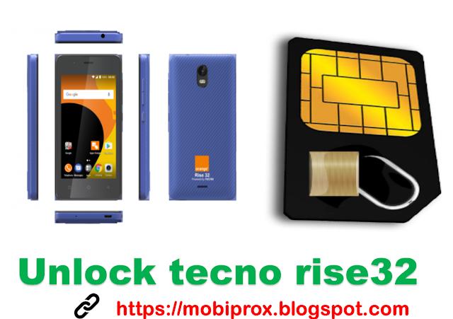 Tecno S1 orange rise unlocking