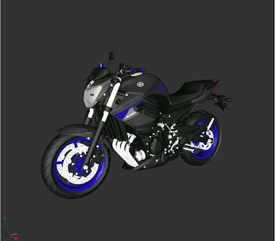XJ6 BLUE RACING 1