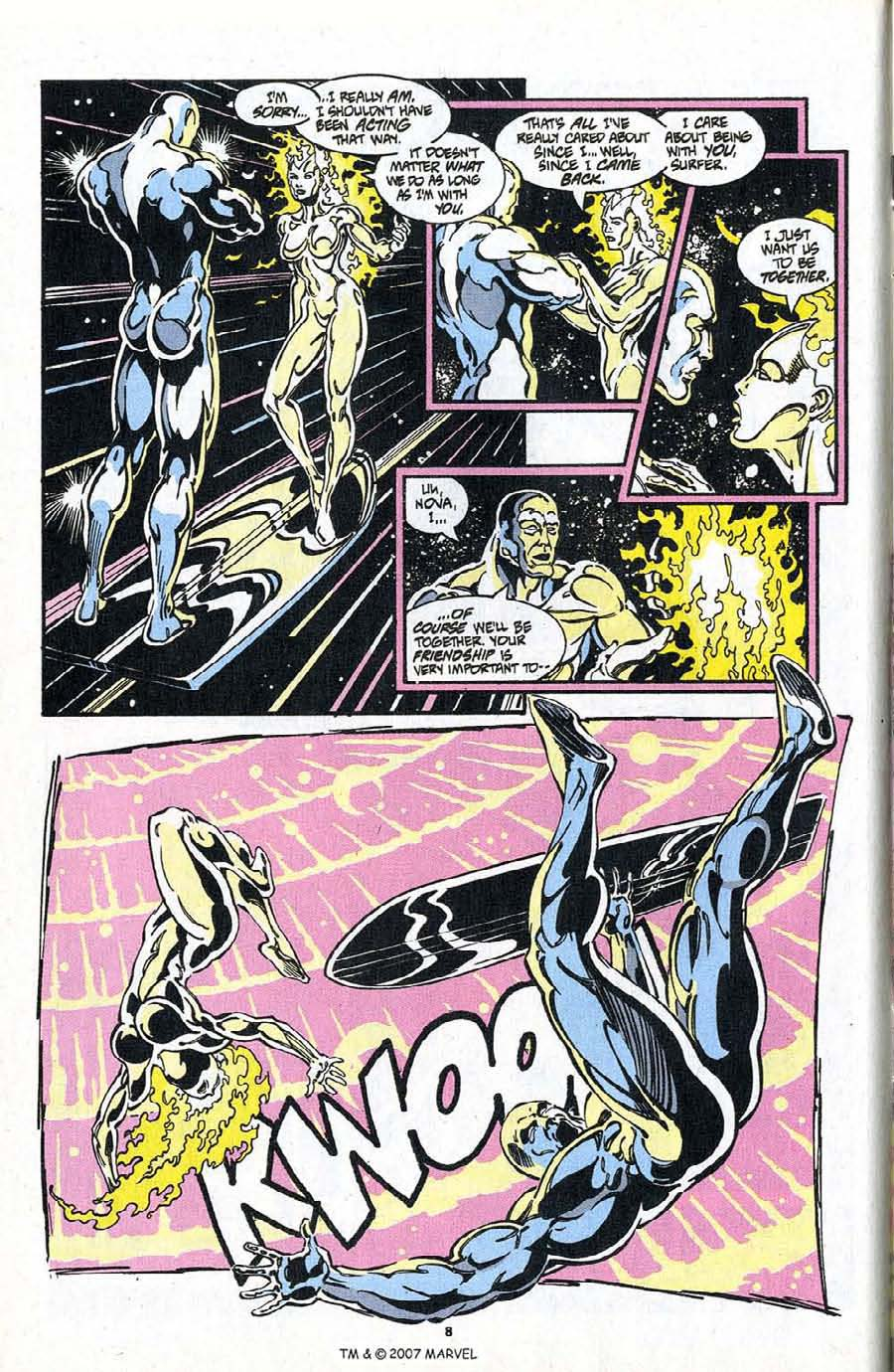 Read online Silver Surfer (1987) comic -  Issue #98 - 10
