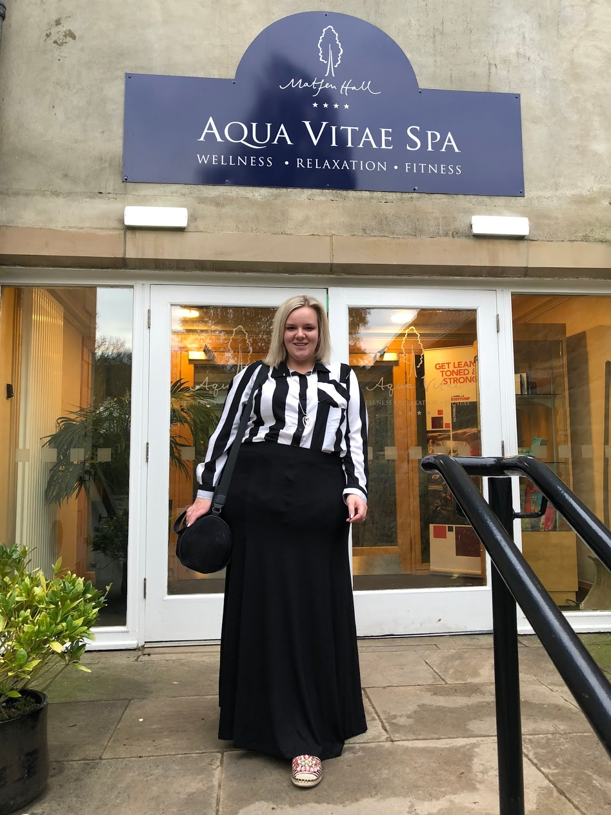 UK Beauty Blogger WhatLauraLoves at Matfen Hall Aqua Vitae Spa