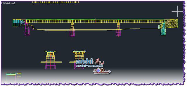 download-autocad-cad-dwg-file-puente-bridge