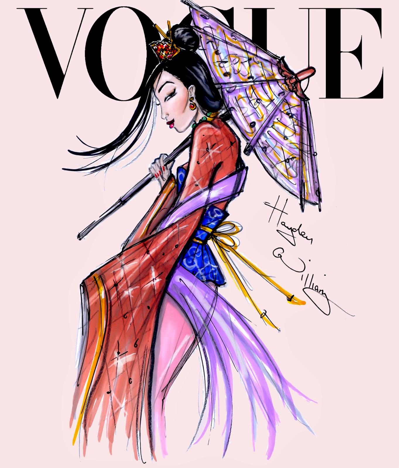 Hayden Williams Fashion Illustrations: Disney Divas for ...