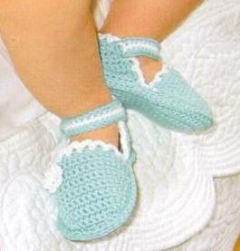 Sapatinhos de bebê em crochê com gráfico
