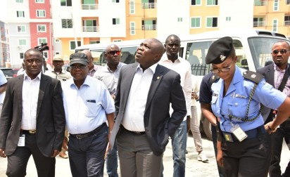 LASG Starts Lekki Gardens Buildings Structural Stability Test