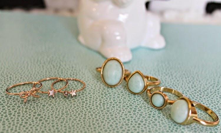 H&M Dainty Rings