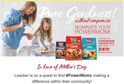 nd Giveaways · Post  National PowerMom Contest & Maggie Gyllenhaal Facebook Live #PureGoodPowerMom.