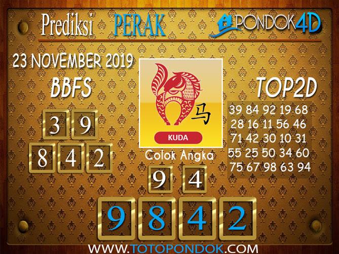 Prediksi Togel PERAK PONDOK4D 23 NOVEMBER 2019