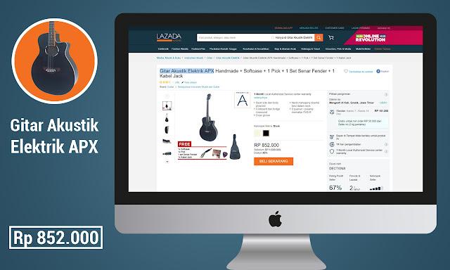 Gitar Akustik Elektrik – Wishlist 3
