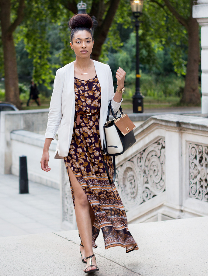 Style | New Look 70s Style Maxi Dress