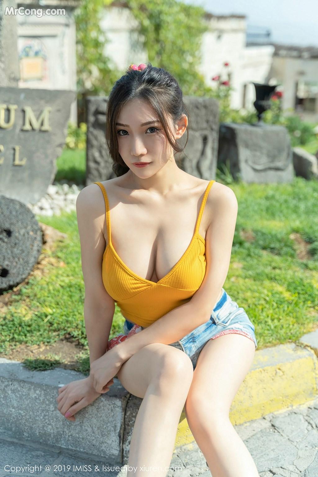 Image IMISS-Vol.319-Xiao-Hu-Li-Kathryn-MrCong.com-010 in post IMISS Vol.319: Người mẫu Xiao Hu Li (小狐狸Kathryn) (41 ảnh)