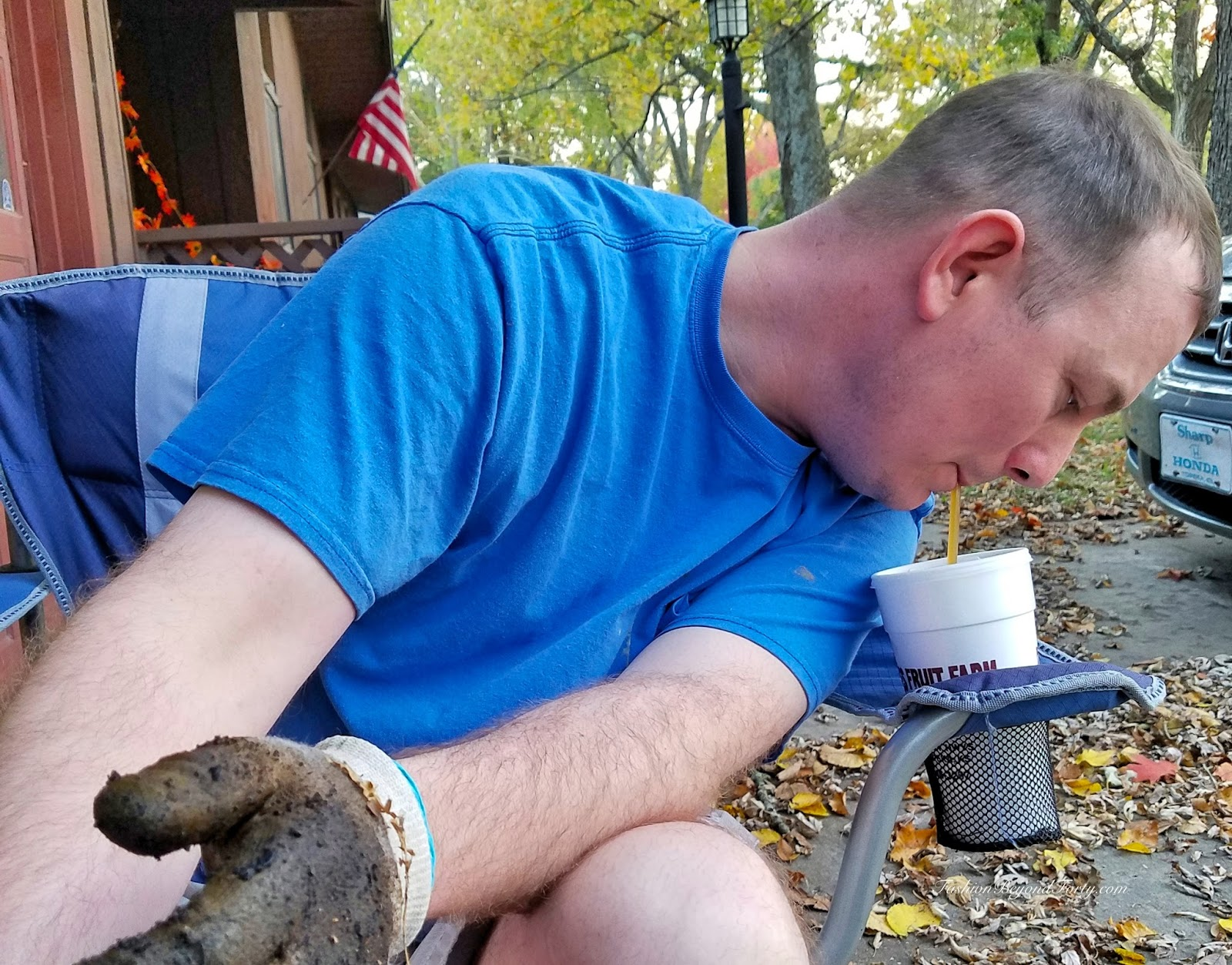 Two Nuts Harvesting Walnuts In The Fall Part Two
