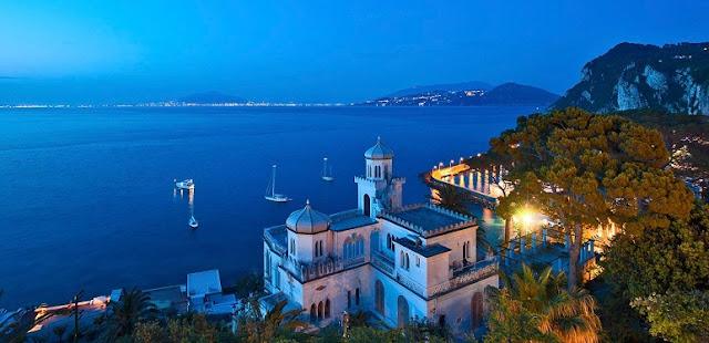 Hotel Excelsior Parco na Ilha de Capri