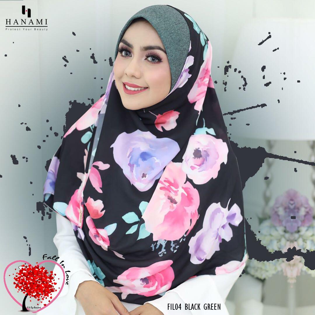 Modesty Closet Instant Shawl Fall In Love Hanami